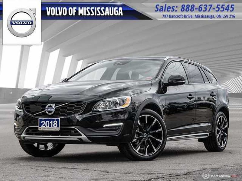 2018 Volvo V60 Cross Country T5 AWD Premier From 0.9%-6Yr/160,000- Preowned War