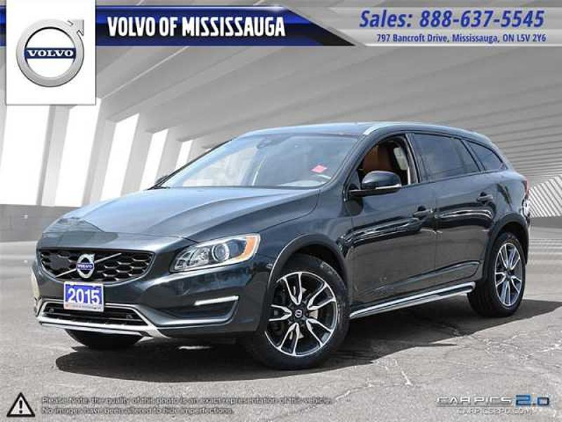 2015 Volvo V60 Cross Country T5 AWD Premier Plus from 0.9%-6Yr/160,000 - Certif