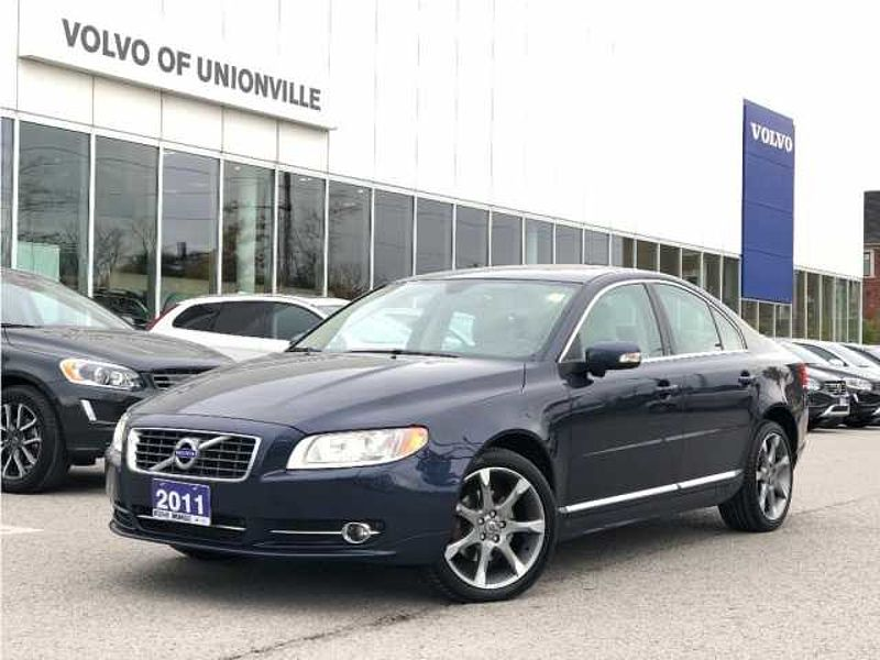 2011 Volvo S80 T6 AWD Level 2 BLIS,VENTILATED FRONT SEATS, TURBO,