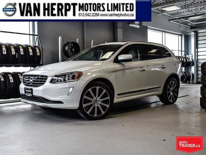 2014 Volvo XC60 T6 Platinum with 0.9% Financing (OAC)