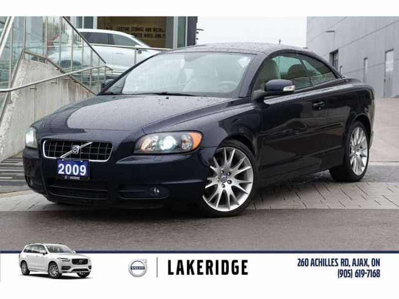 2009 Volvo C70 CONVERTIBLE, LEATHER, ALLOYS